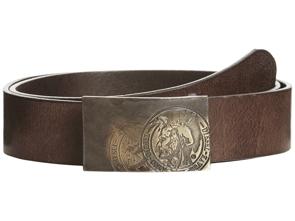 Diesel - B-Warrior - Belt (Coffee) Men's Belts
