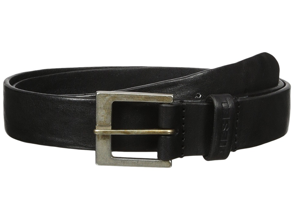 Diesel - B-Smooth - Belt (Black) Men's Belts