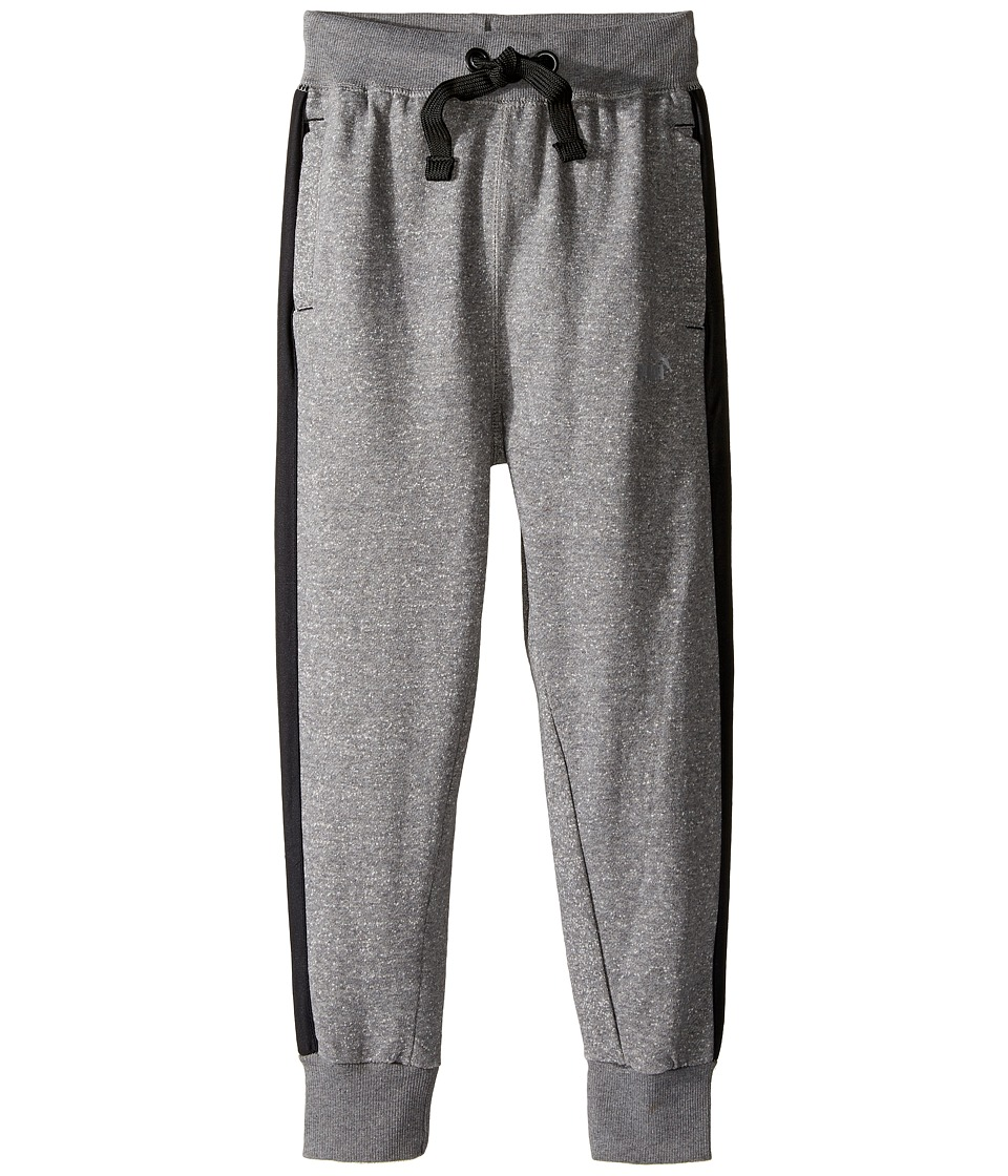 Puma Kids - Comfort Fleece Jogger (Big Kids) (Grey Heather) Boy's Casual Pants