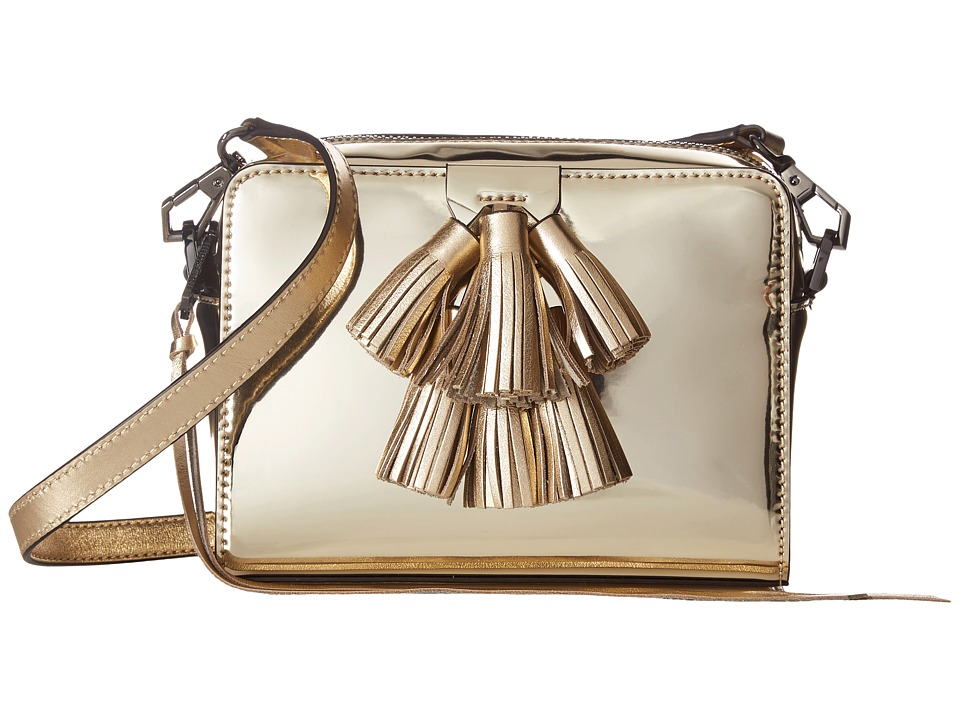 Rebecca Minkoff - Mini Sofia Crossbody (Pale Gold) Cross Body Handbags