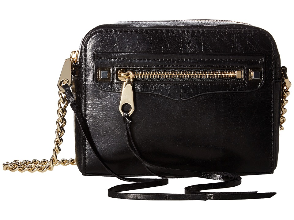 Rebecca Minkoff - Regan Camera Bag (Black) Handbags