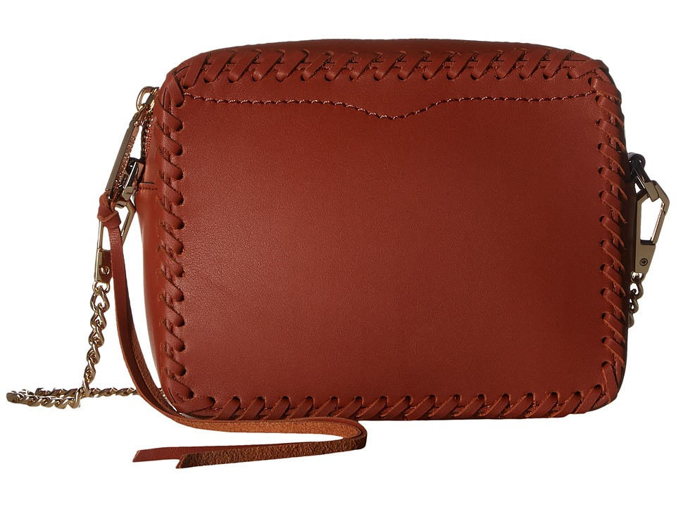 Rebecca Minkoff - Chase Camera Crossbody (Brick Multi) Cross Body Handbags