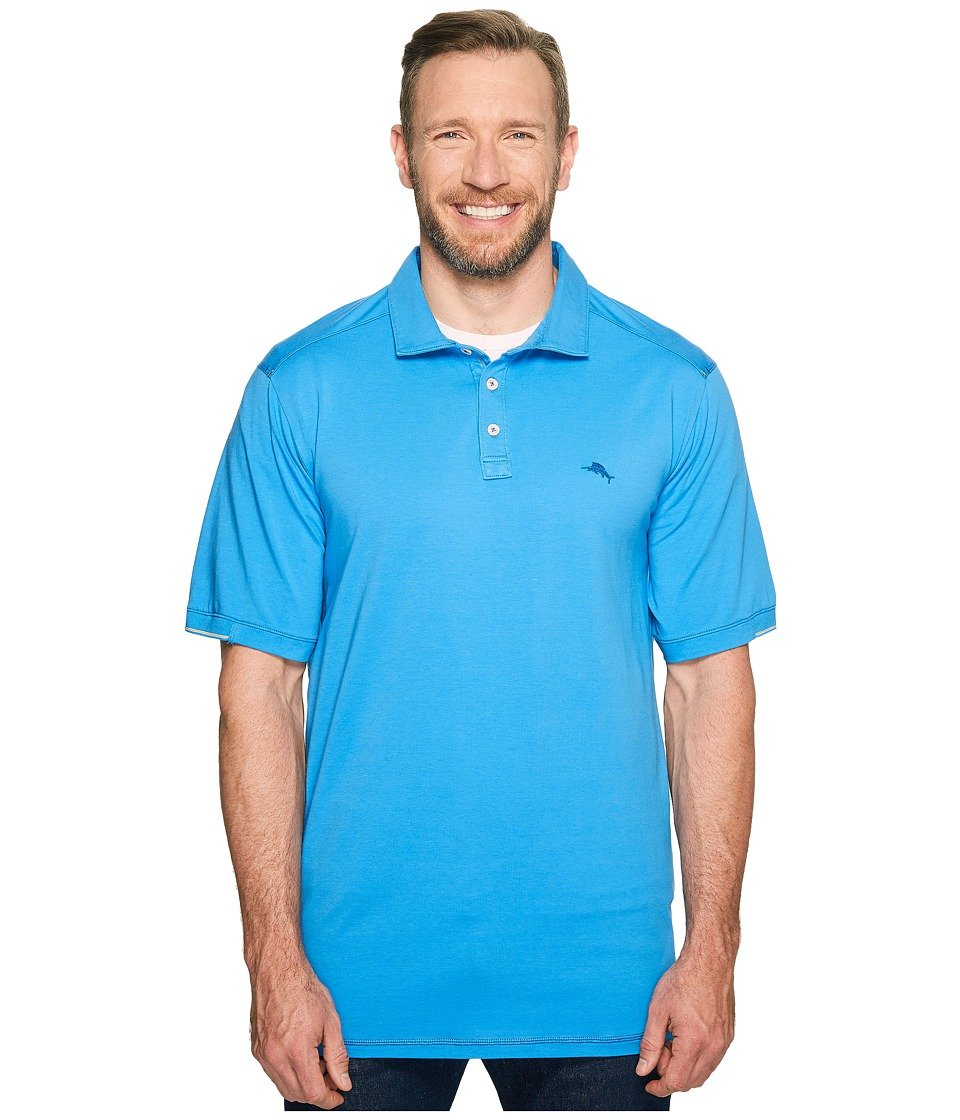 Tommy Bahama Big & Tall - Big Tall Tropicool Spectator (Download Blue) Men's T Shirt