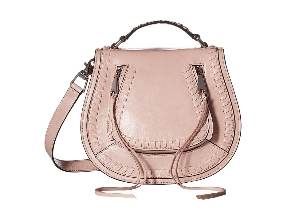 Rebecca Minkoff - Small Vanity Saddle (Lilac Rose) Bags
