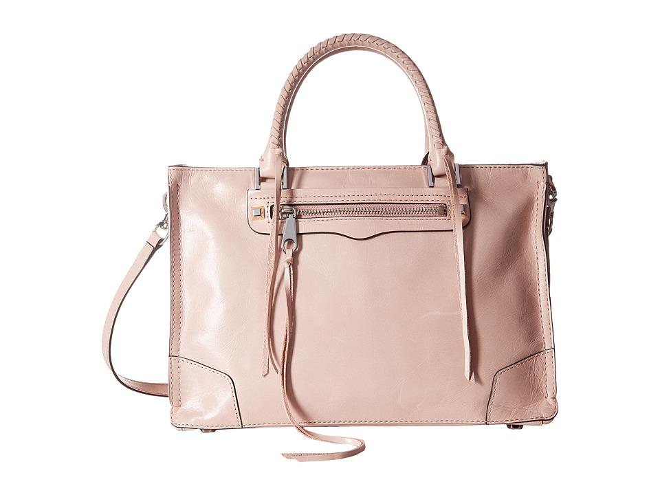 Rebecca Minkoff - Regan Satchel Tote (Lilac Rose) Tote Handbags
