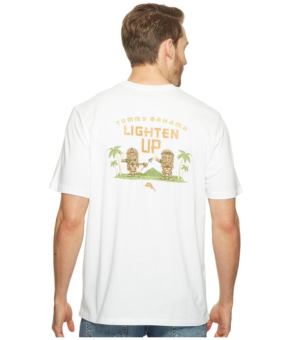 Tommy Bahama - Lighten Up Tee (White) Men's T Shirt