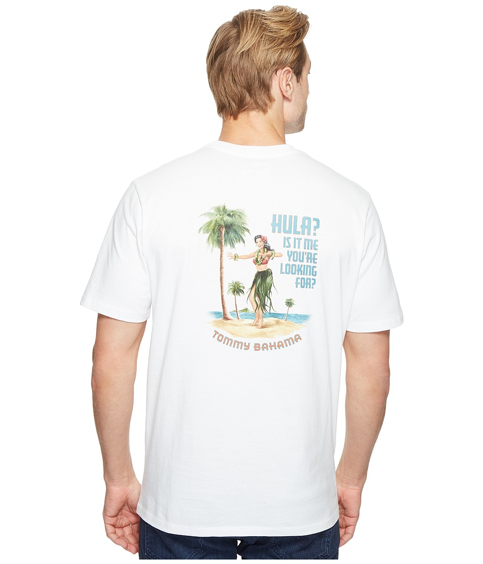 Tommy Bahama - Hula Its Me Tee (White) Men's T Shirt