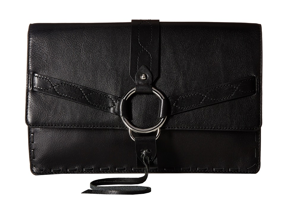 Rebecca Minkoff Darling Convertible Clutch (Black) Clutch Handbags