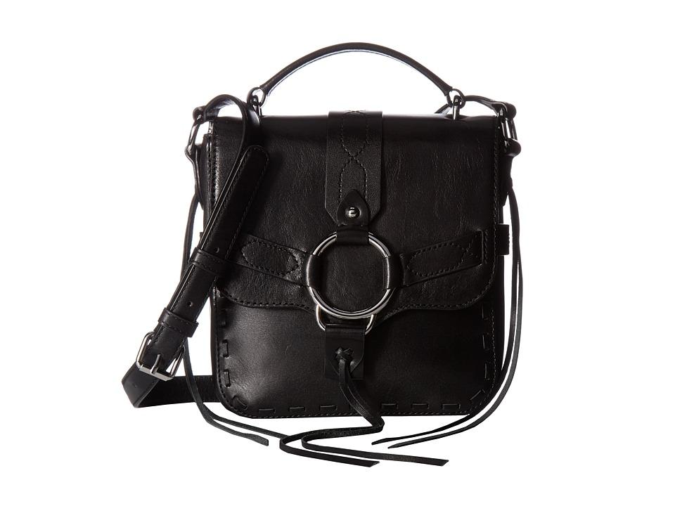 Rebecca Minkoff - Darling Top-Handle Crossbody (Black) Cross Body Handbags