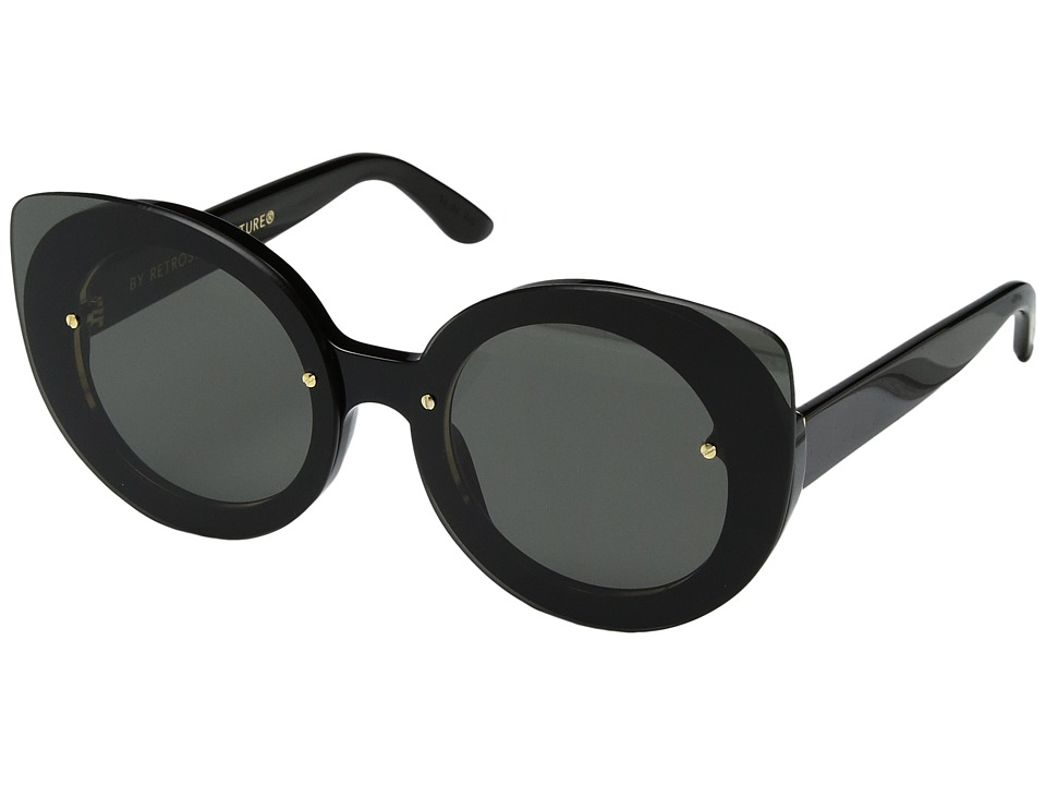 Super - Rita Black (Black) Fashion Sunglasses