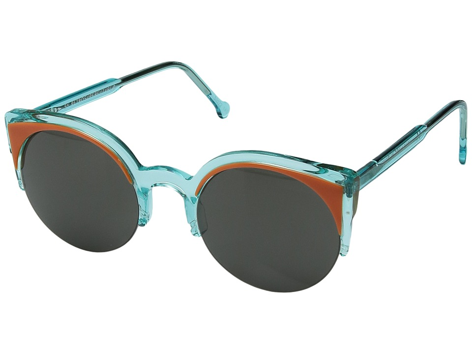 Super - Lucia Surface Anice (Aqua) Fashion Sunglasses