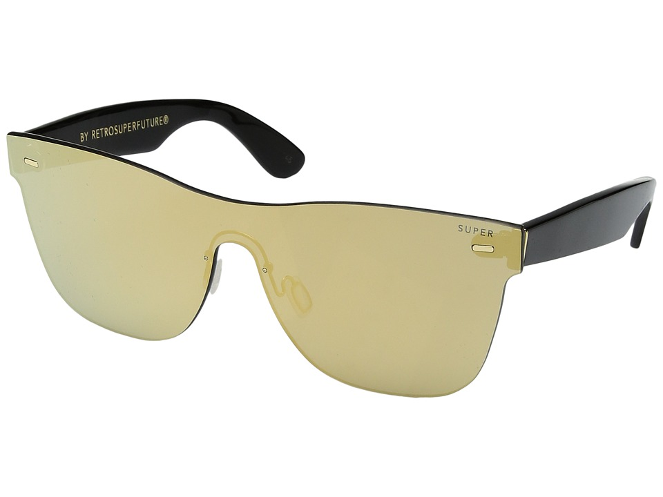 Super - Classic 58mm (Gold/Black) Fashion Sunglasses