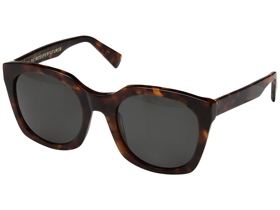 Super - Quadra Classic Havana (Havana) Fashion Sunglasses