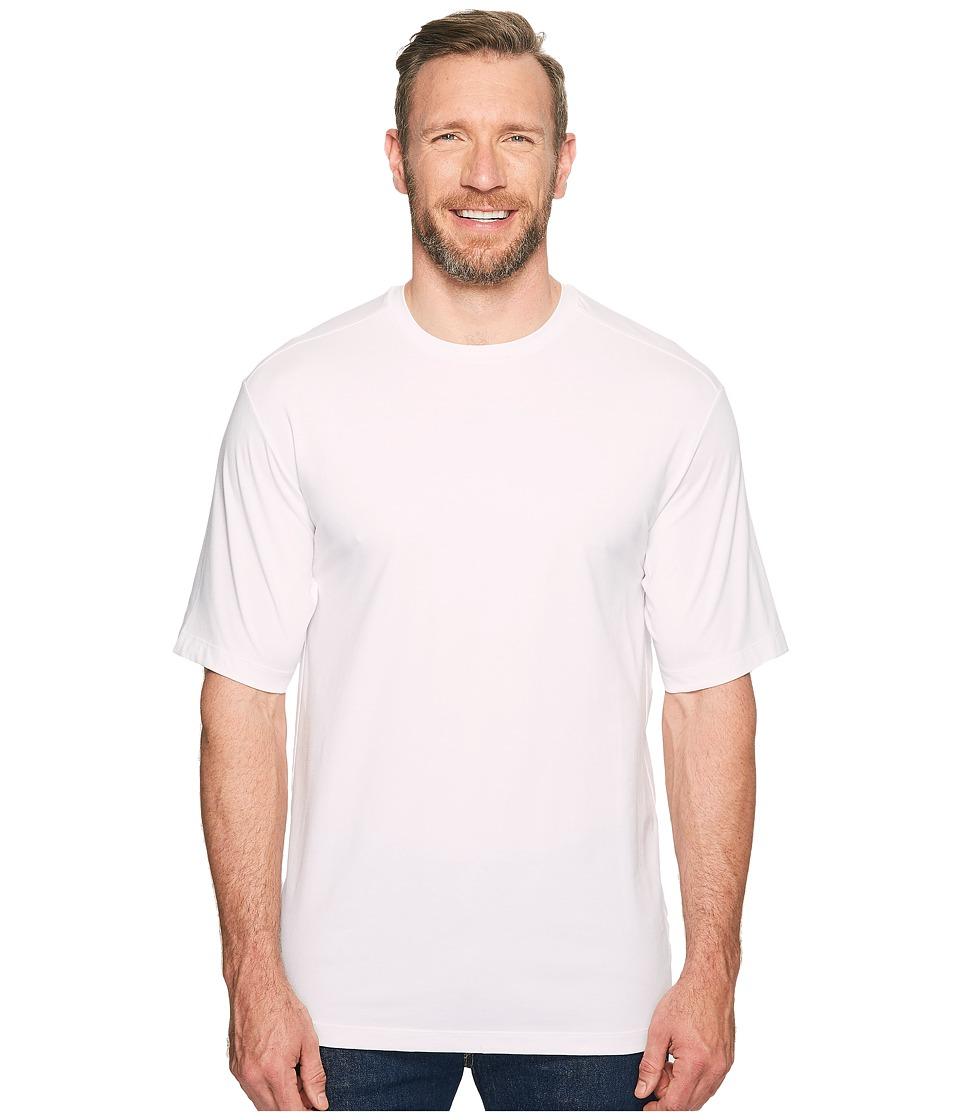 Tommy Bahama Big & Tall - Big Tall Tropicool Tee (White) Men's T Shirt