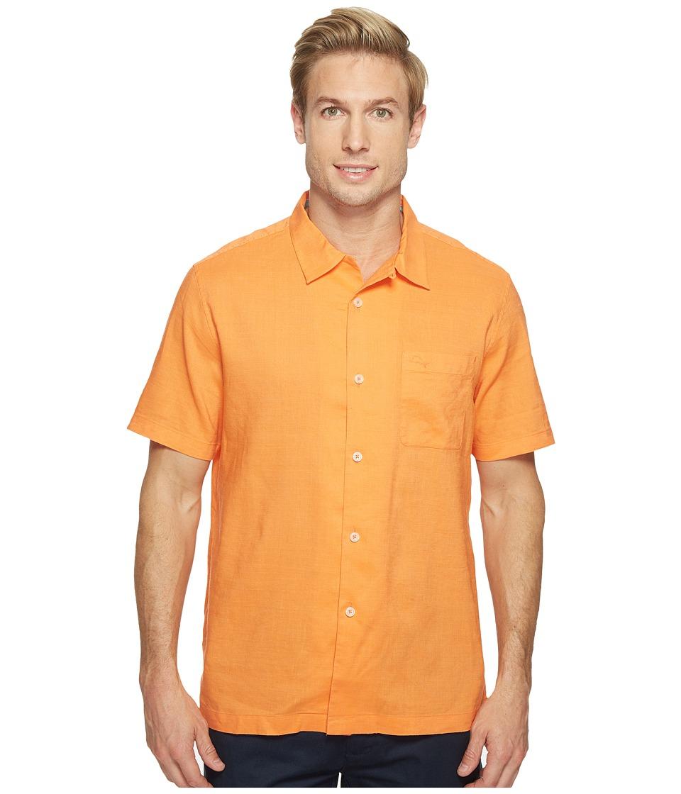 Tommy Bahama - Monaco Tides Short Sleeve (Citrus Sun) Men's Clothing