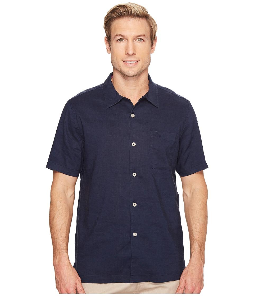 Tommy Bahama - Monaco Tides Short Sleeve (Ocean Deep) Men's Clothing