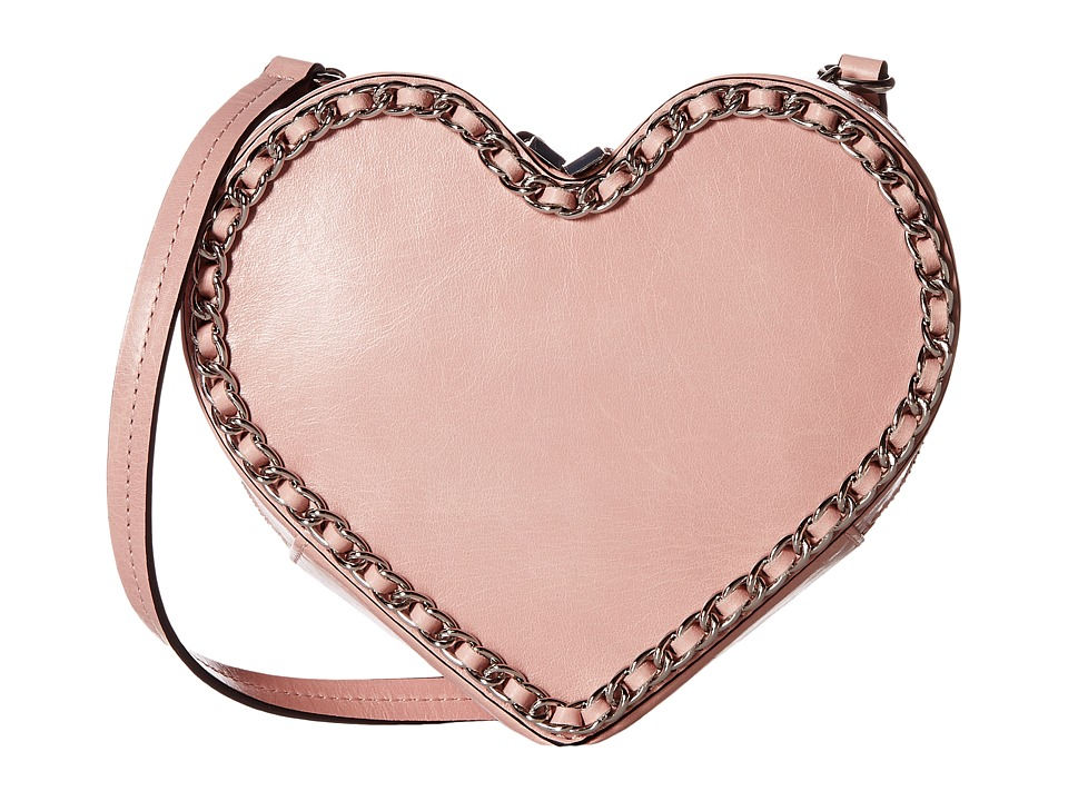 Rebecca Minkoff - Chain Heart Crossbody (Lilac Rose) Cross Body Handbags