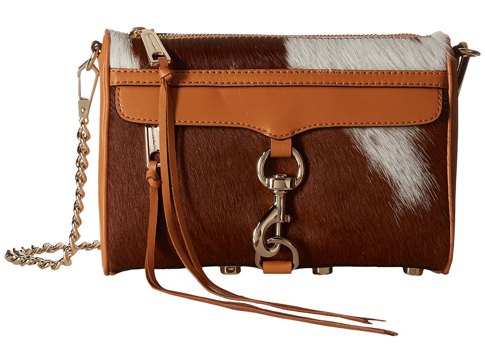 Rebecca Minkoff - Haircalf Mini Mac (Haircalf/Sand) Handbags