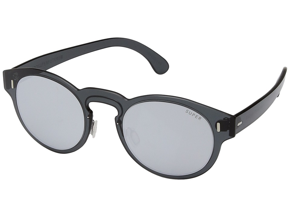 Super - Duo-Lens Paloma Silver/Black (Silver/Black) Fashion Sunglasses
