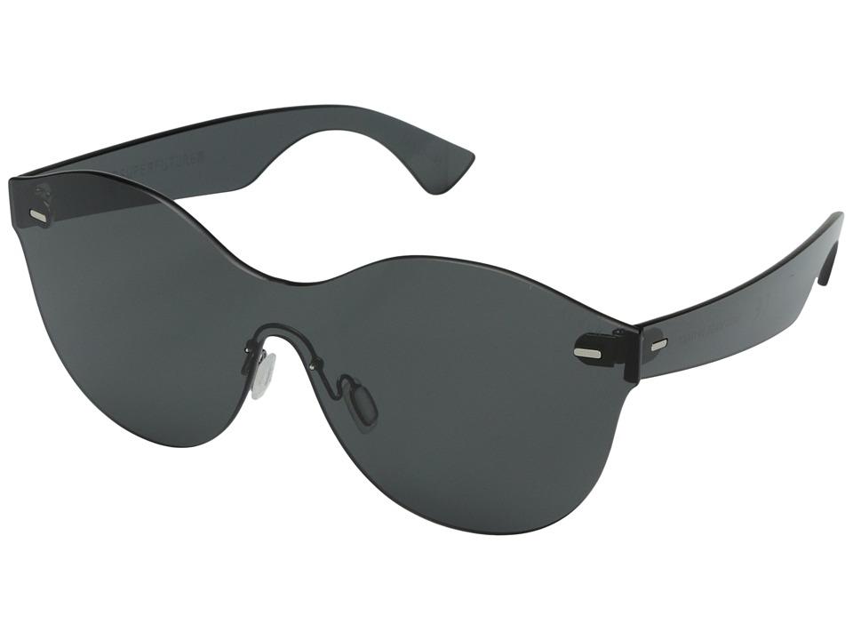 Super - Mona 54mm (Tuttolente Black) Fashion Sunglasses