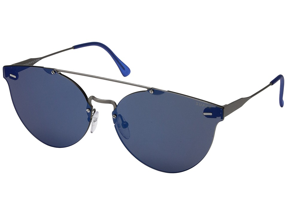 Super - Tuttolente Giaguaro Blue (Blue) Fashion Sunglasses