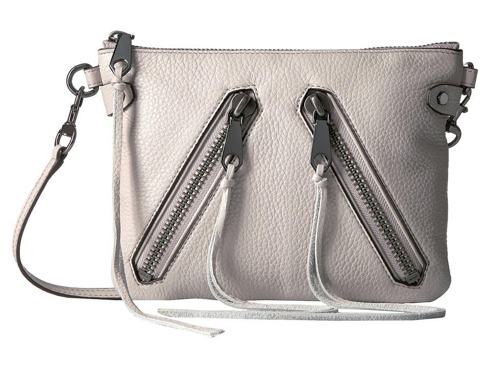 Rebecca Minkoff - Moto Jon Crossbody (Putty) Cross Body Handbags