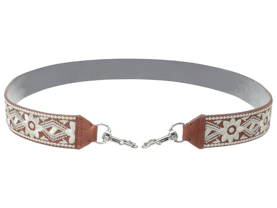 Rebecca Minkoff - Stitched Guitar Strap (Brick) Handbags