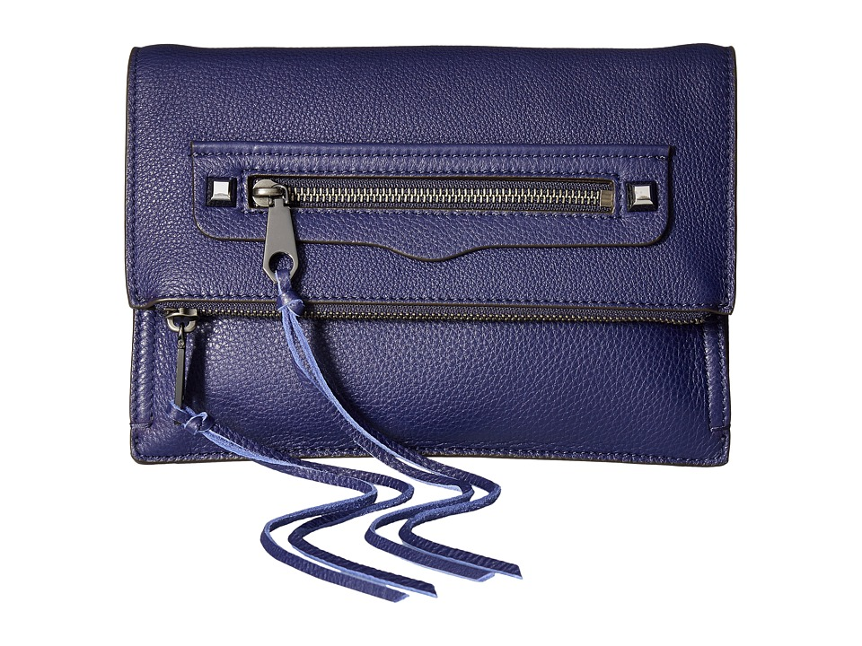 Rebecca Minkoff Small Regan Clutch (Eclipse) Clutch Handbags