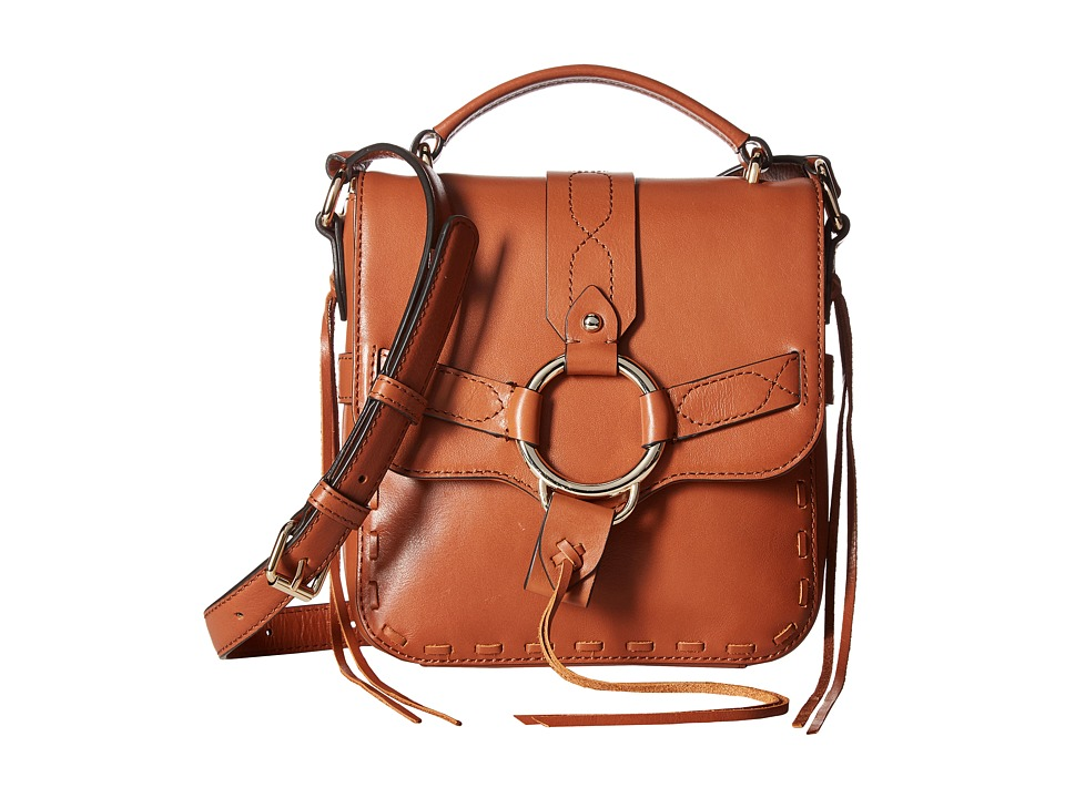 Rebecca Minkoff - Darling Top-Handle Crossbody (Almond) Cross Body Handbags