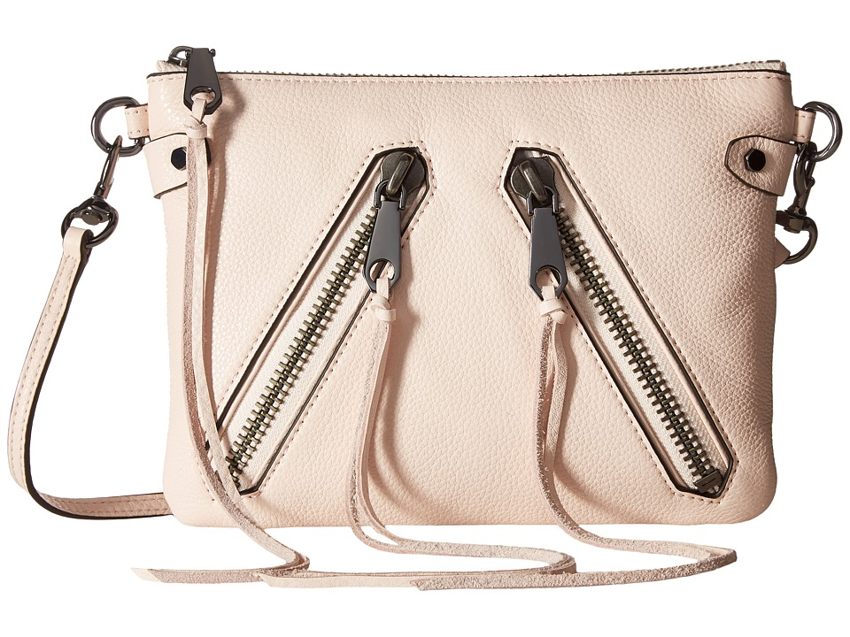 Rebecca Minkoff - Moto Jon Crossbody (Soft Blush) Cross Body Handbags