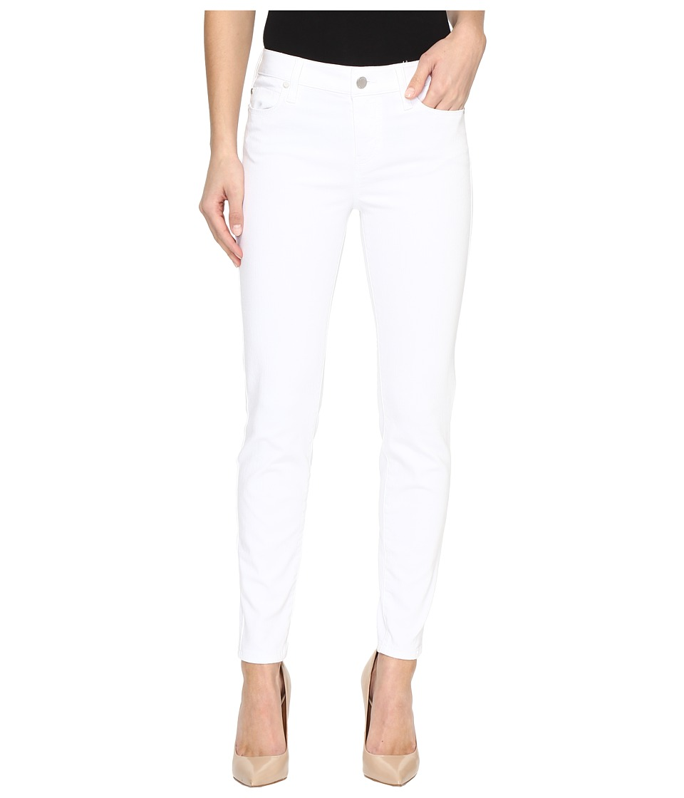 Liverpool - Penny Ankle Skinny Vintage Slub Stretch Twill in Bright White (Bright White) Women's Jeans