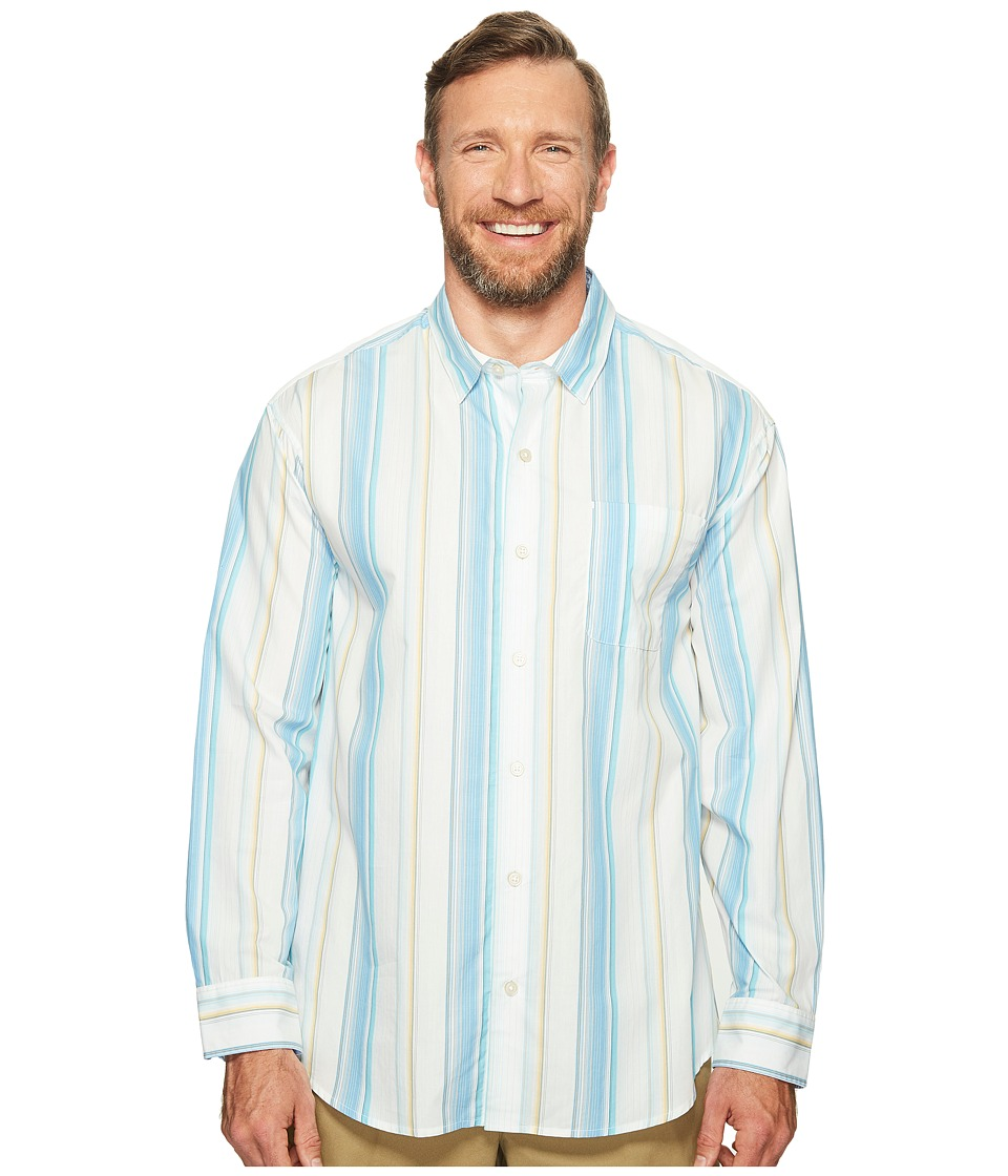 Tommy Bahama Big & Tall - Big Tall Serefina Stripe (Download Blue) Men's Clothing