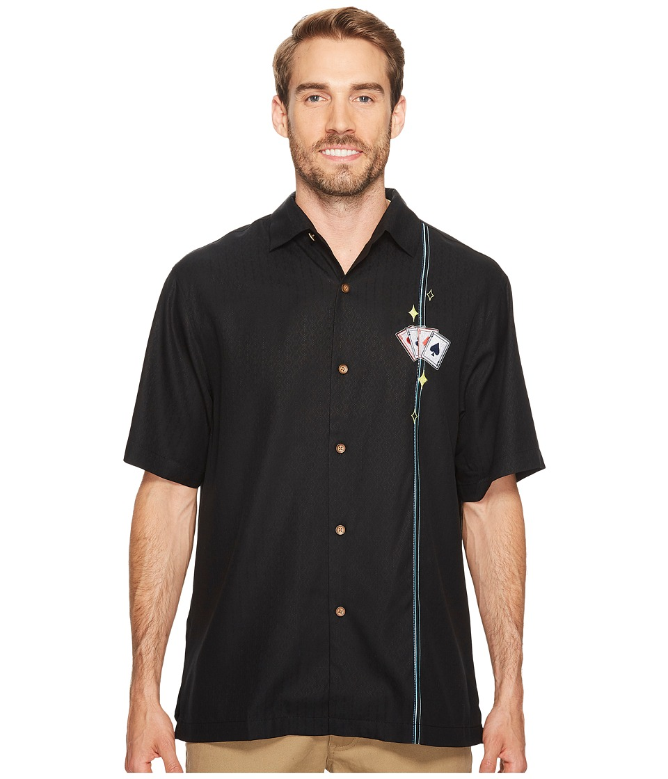 Tommy Bahama - Blue Fin Lounge (Black) Men's Clothing
