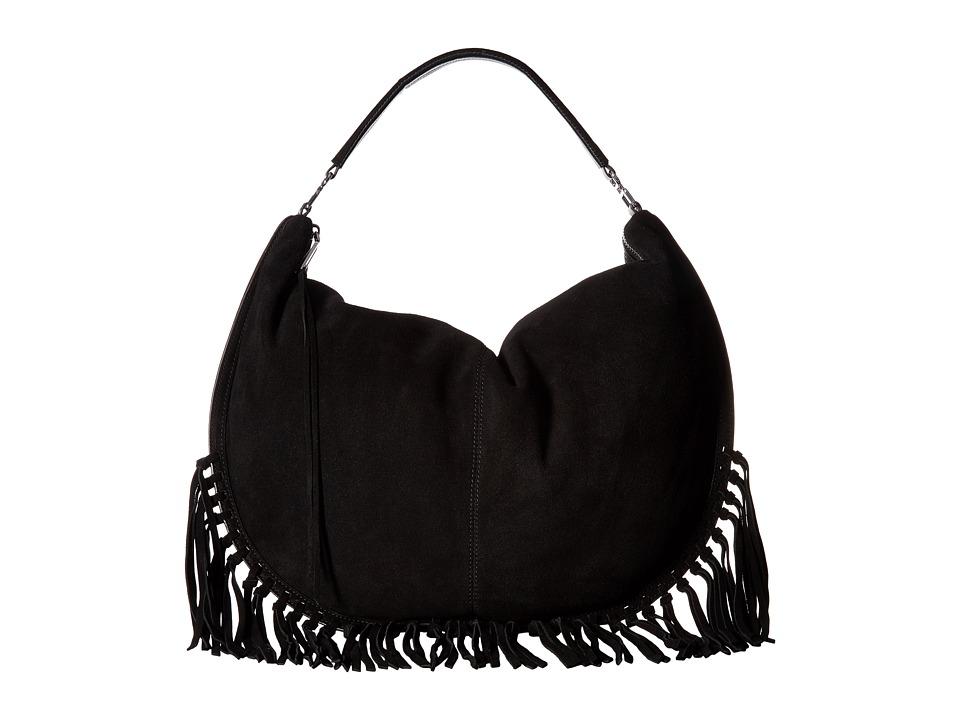 Rebecca Minkoff - Rapture Large Convertible Hobo (Black) Hobo Handbags