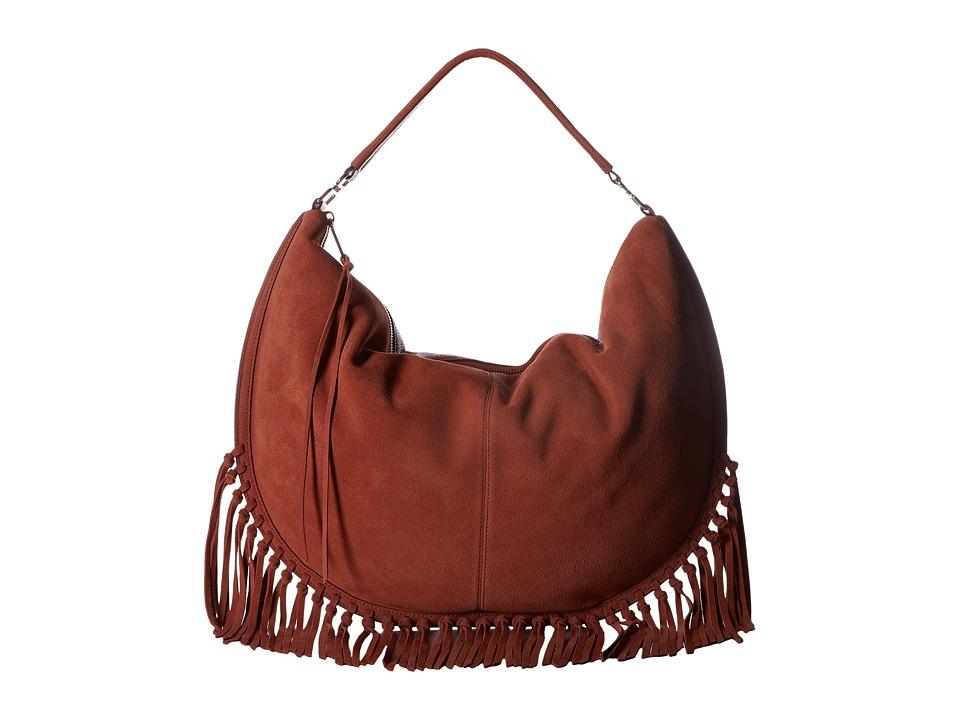 Rebecca Minkoff - Rapture Large Convertible Hobo (Brick) Hobo Handbags