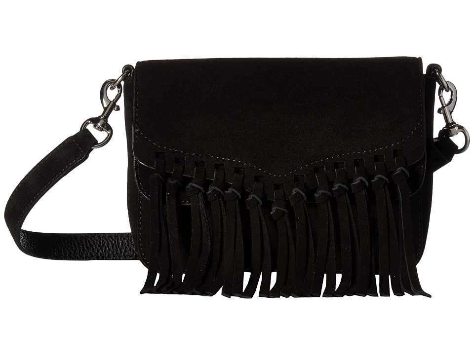 Rebecca Minkoff - Rapture Small Shoulder Bag (Black) Shoulder Handbags