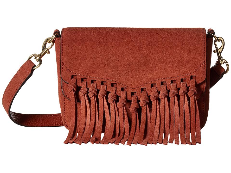 Rebecca Minkoff - Rapture Small Shoulder Bag (Brick) Shoulder Handbags