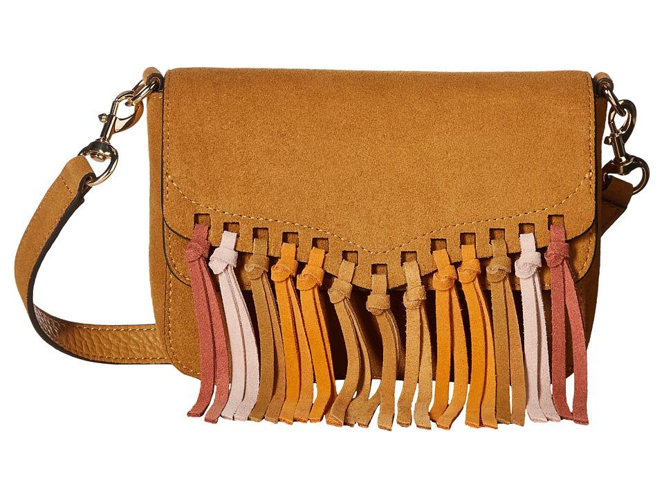 Rebecca Minkoff - Rapture Small Shoulder Bag (Sand Multi Tassel) Shoulder Handbags
