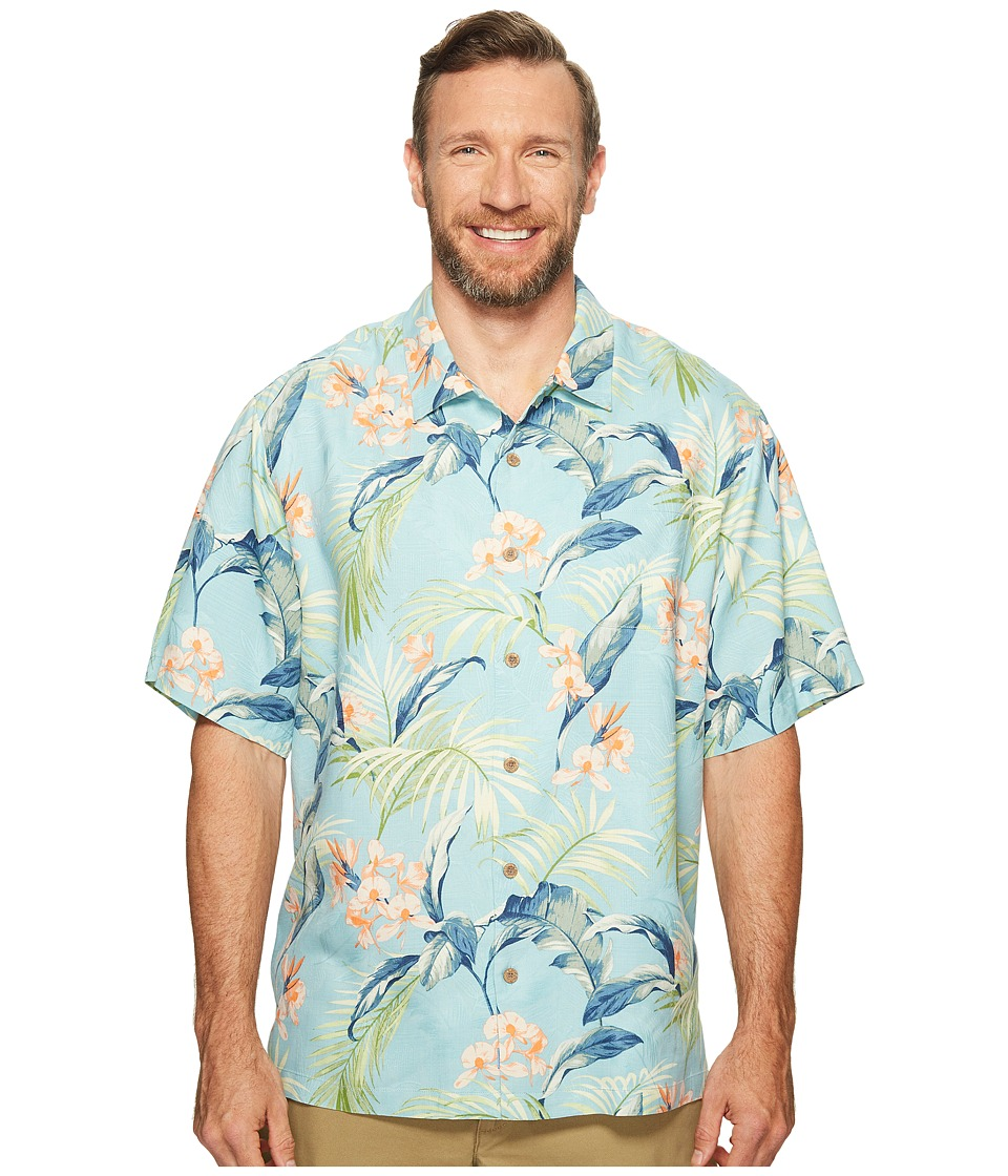 Tommy Bahama Big & Tall - Big Tall Adara Garden (Lagoon Water) Men's Clothing
