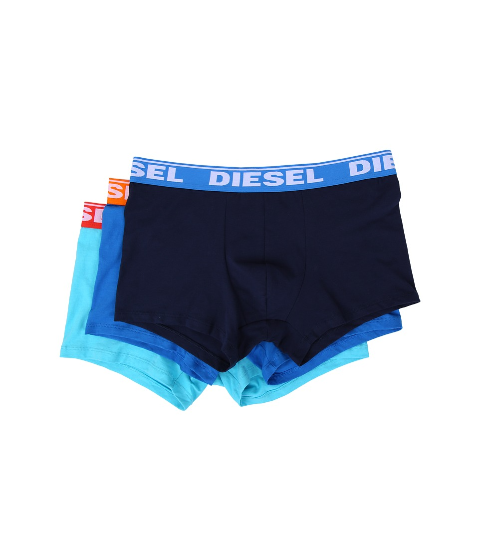 Diesel - Shawn Trunk AFN 3-Pack (Blue Multi) Men's Underwear