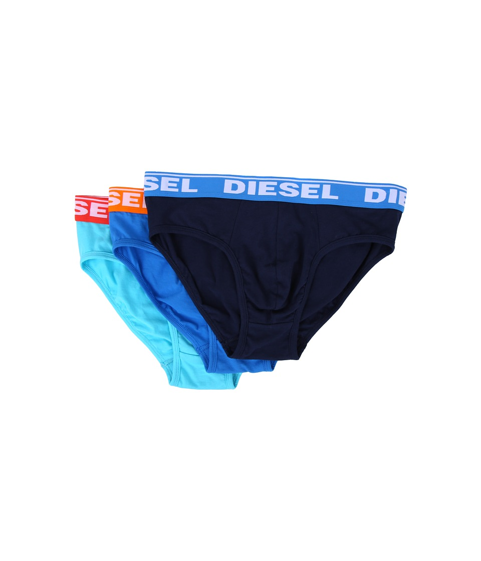 Diesel - Andre Brief GAFN 3-Pack (Blue/Multi) Men's Underwear