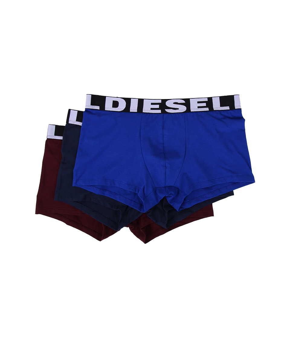 Diesel - Shawn 3-Pack Boxer Shorts AAMT (Blue/Navy) Men's Underwear