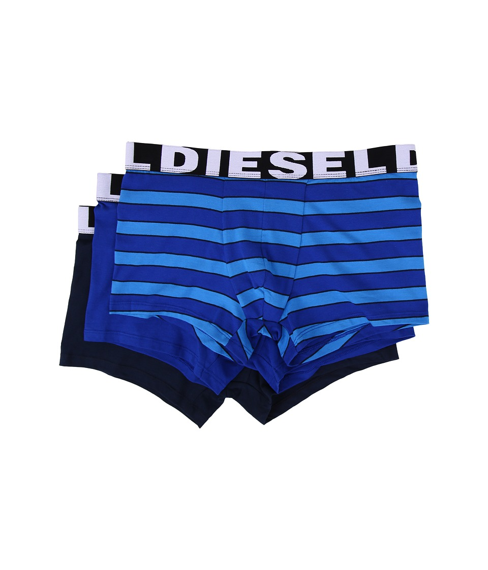 Diesel - Shawn 3-Pack Trunk AAOE (Blue Stripe) Men's Underwear