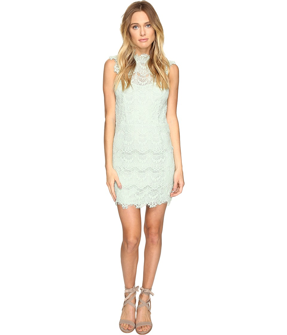 Free People - Daydream Bodycon Slip Dress (Mint) Women's Dress