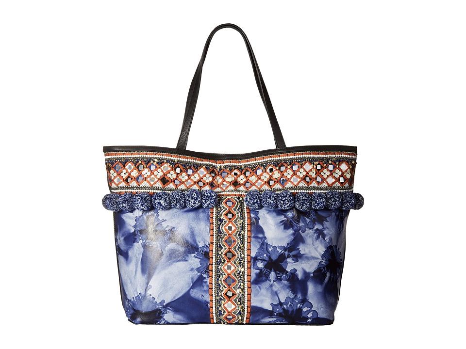 Rebecca Minkoff - Dreamy Tote (Blue Multi Tie-Dye) Tote Handbags