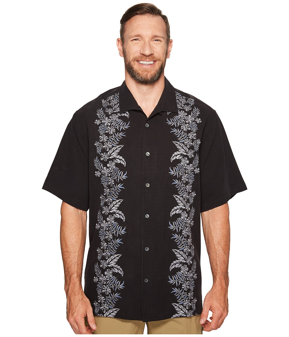 Tommy Bahama Big & Tall - Big Tall Put a Leaf on It (Jet Black) Men's Clothing