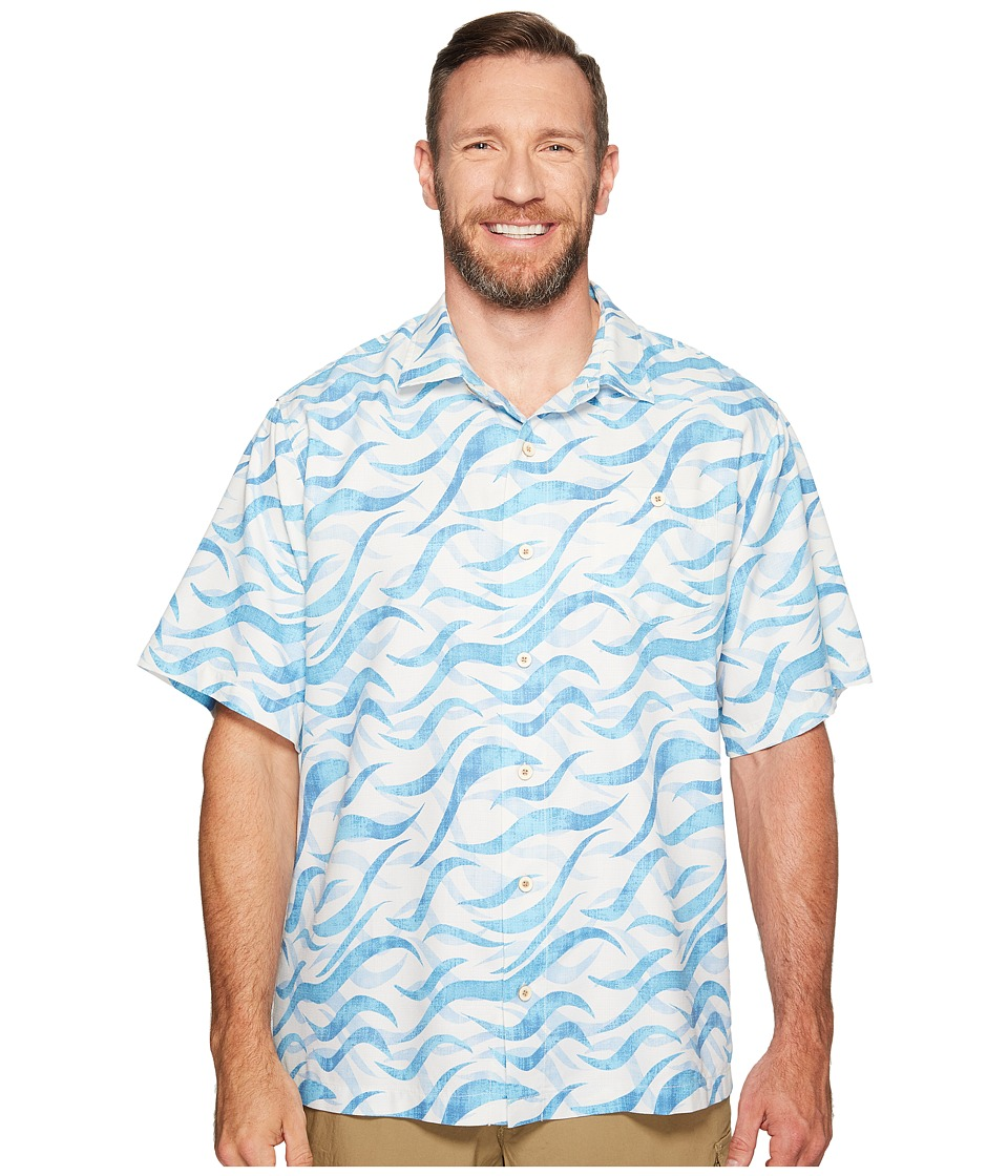 Tommy Bahama Big & Tall - Big Tall Retsina Waves (Graceful Sea) Men's Clothing