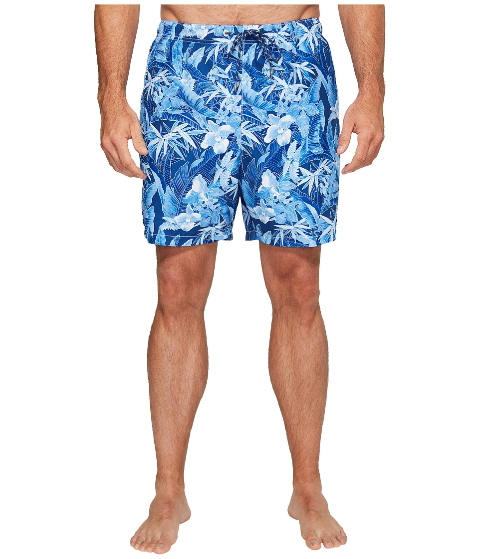 Tommy Bahama Big & Tall - Big Tall Naples Oasis Blooms (Old Royal) Men's Swimwear