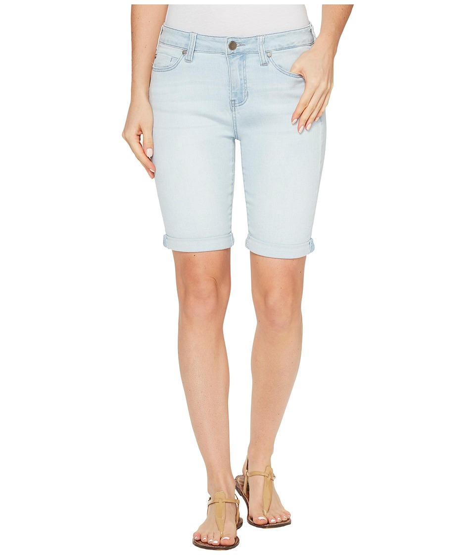 Liverpool - Hayden Rolled-Cuff Bermuda Vintage Super Comfort Stretch Denim in Boulder Bleach Out (Boulder Bleach Out) Women's Shorts