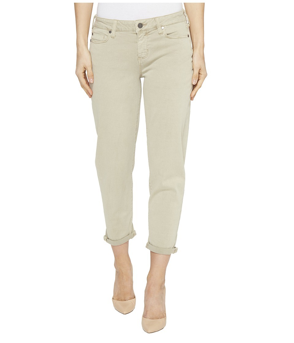 Liverpool - Riley Relaxed Crop in Stretch Peached Twill in Pure Cashmere (Pure Cashmere) Women's Jeans